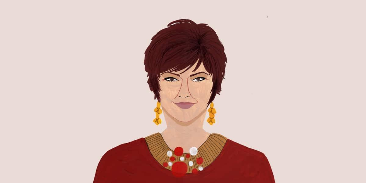 Illustrazione di Lorena Spurio per Senza rossetto