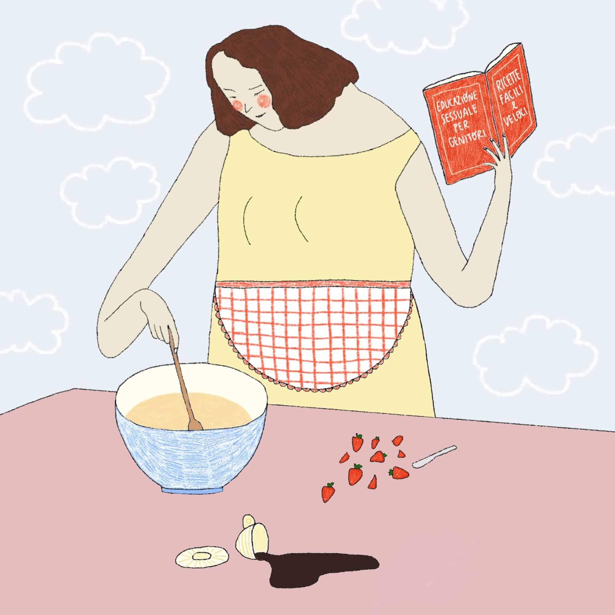 Illustrazione diTabù e marmellata per Senza rossetto